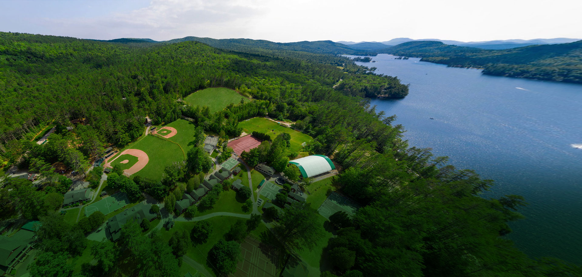 Visiting Brant Lake Summer Camp in New York