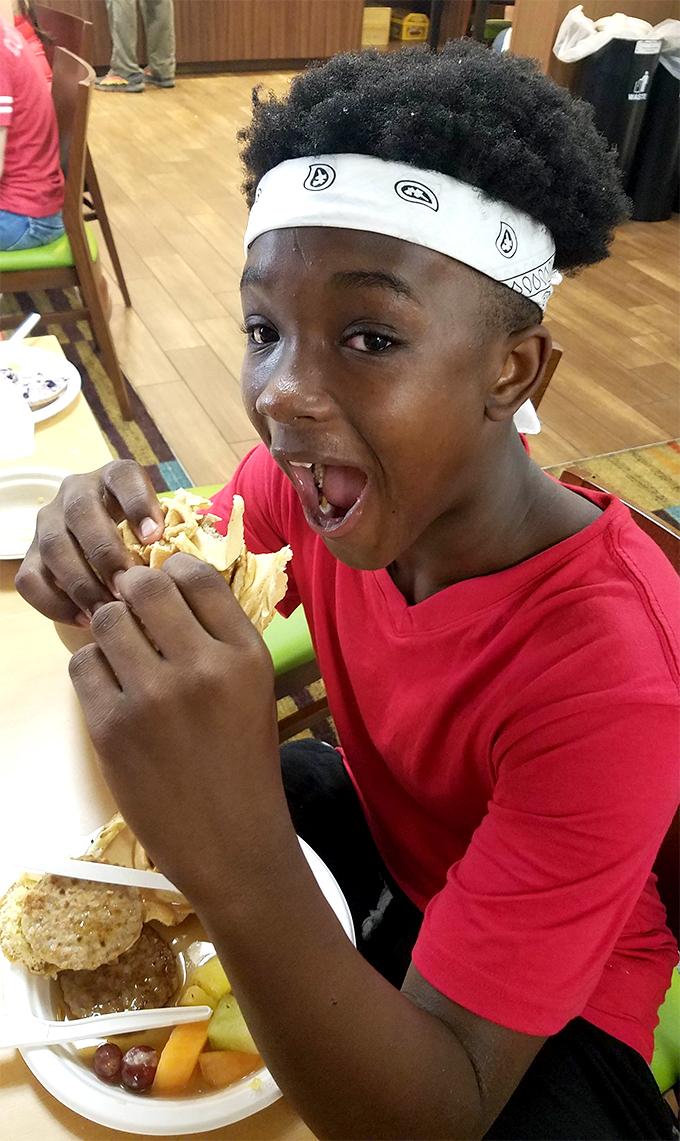 Dining and Food at Summer Camp