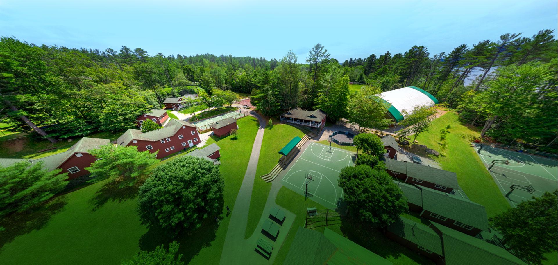 Brant Lake summer camp campus facilities