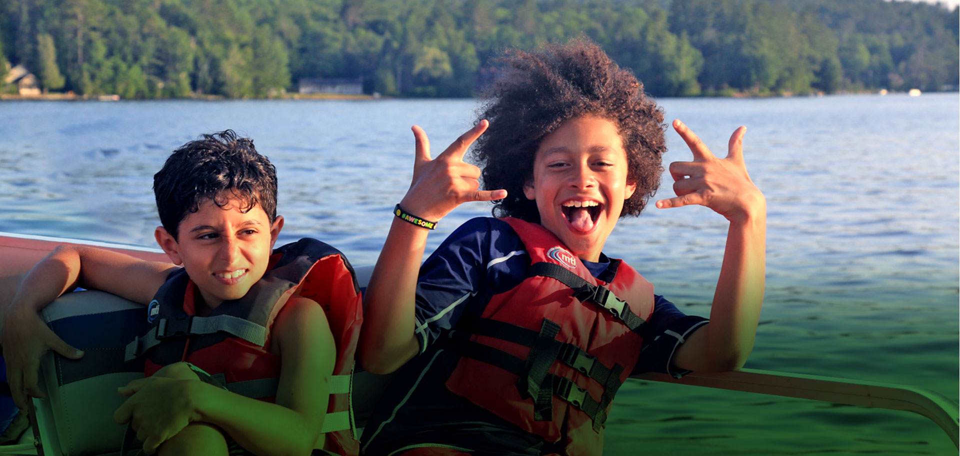 Brant Lake Camp Families and Campers