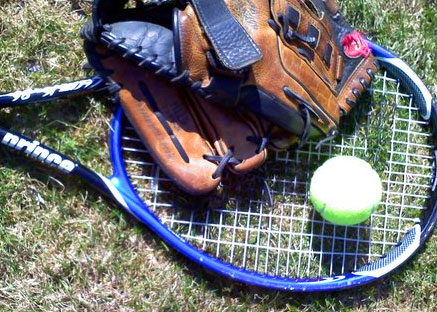 Tennis Racket Baseball